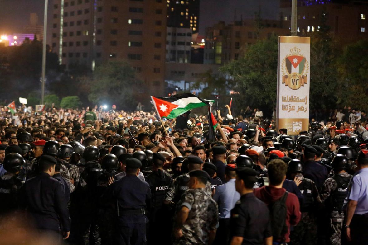 Protesty v Ammánu