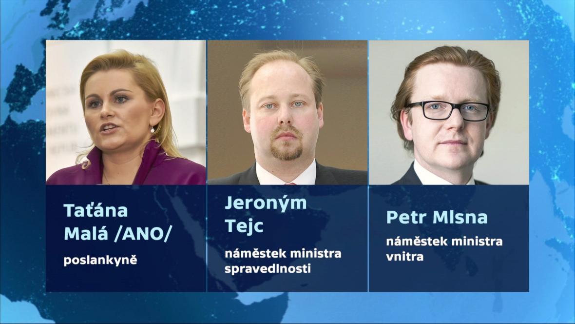 Možní kandidáti na ministra spravedlnosti