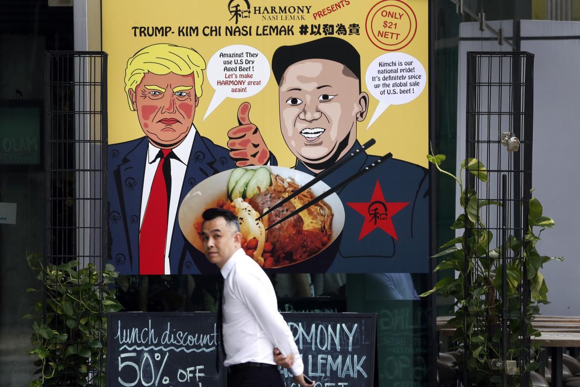 Singapur žije nadcházejícím summitem Trumpa a Kima