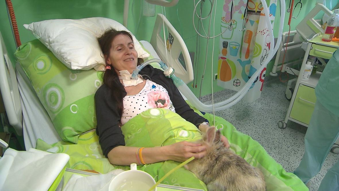 Renatě Mrázové svitla naděje, že by se mohla z nemocnice dostat