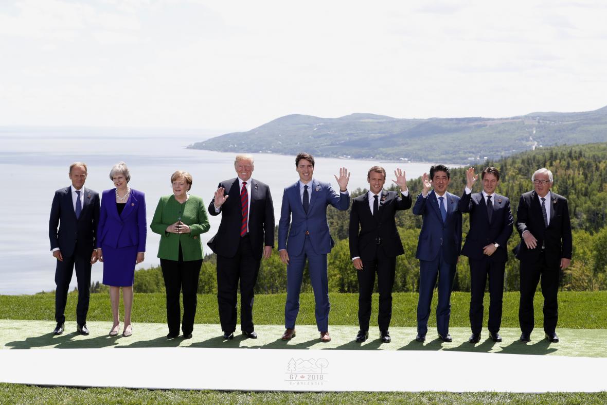 Lídři zemí G7