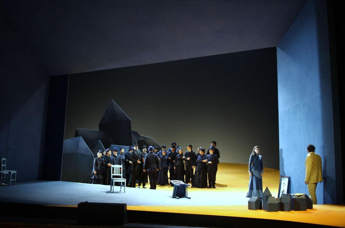 Opera Werther v Národním divadle