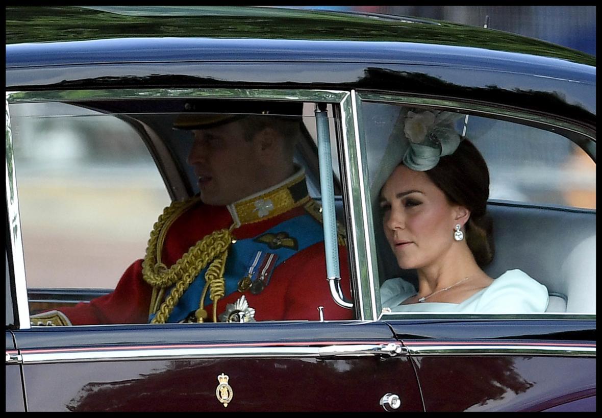 Princ William s manželkou, vévodkyní Kate