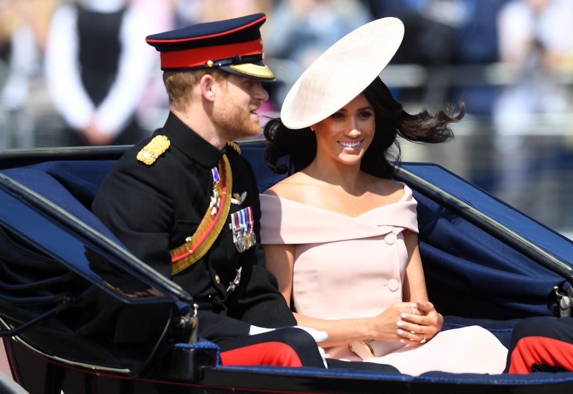 Princ Harry s novomanželkou Meghan