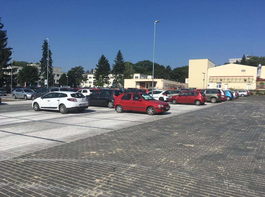 Nové parkoviště v Kyjově