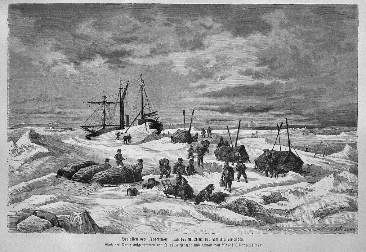 Julius Payer: Opuštění lodi