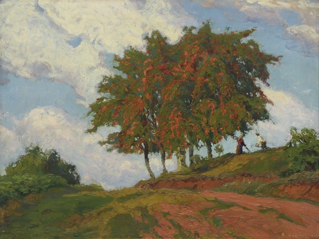 Z výstavy Krajina mého srdce (Smetanova výtvarná Litomyšl)