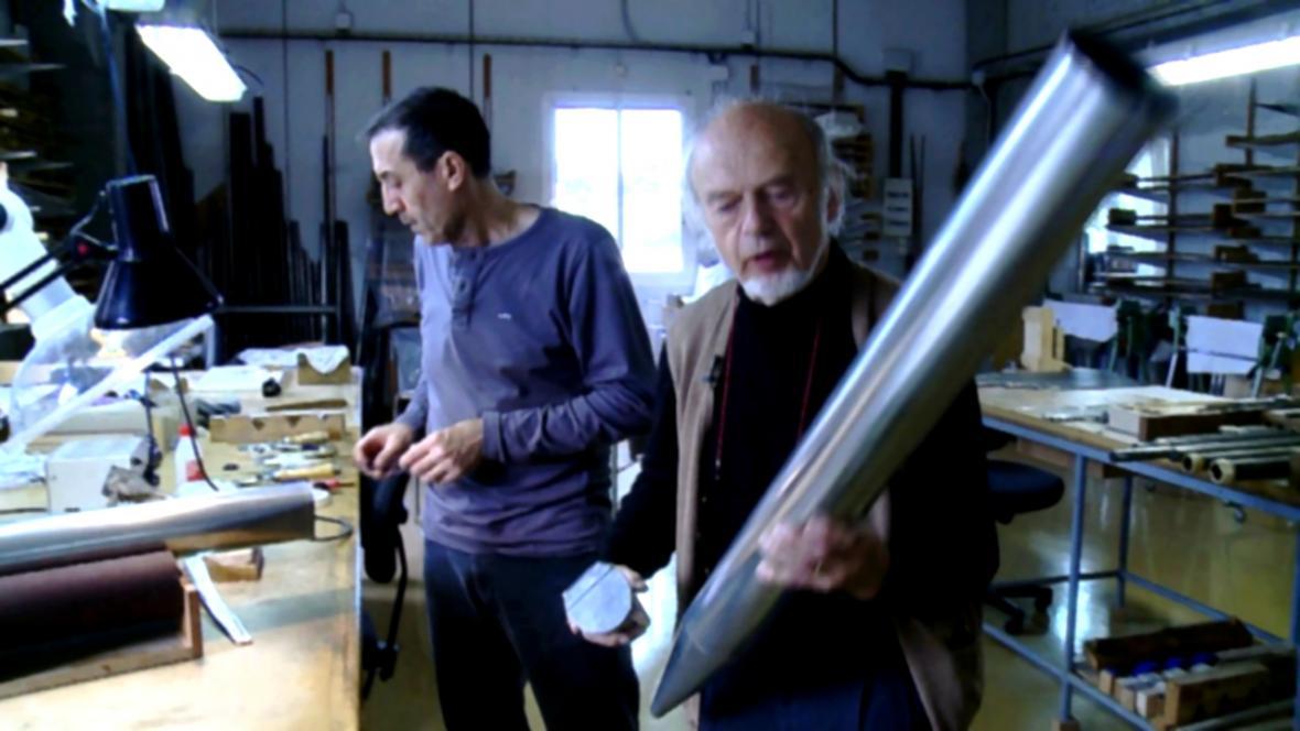 Výroba varhan v dílně Gerharda Grenzinga