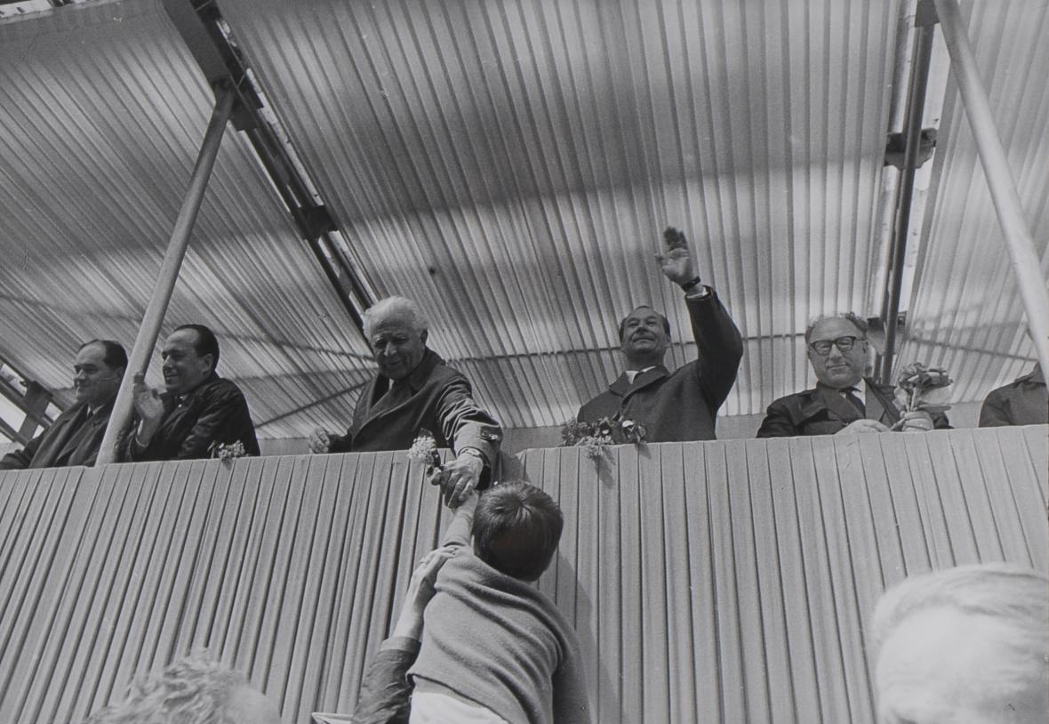 1. máj, Praha, 1968