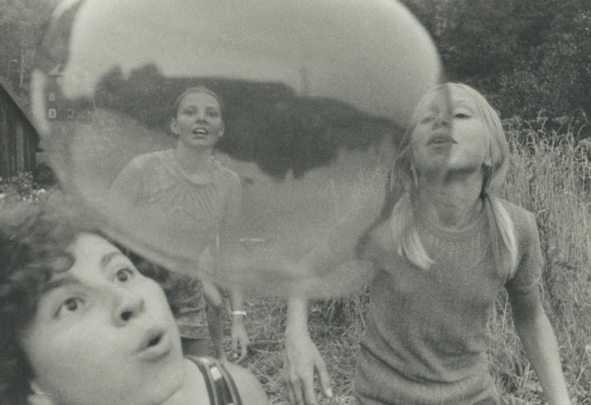 Bez názvu, z cyklu Děti, 1971