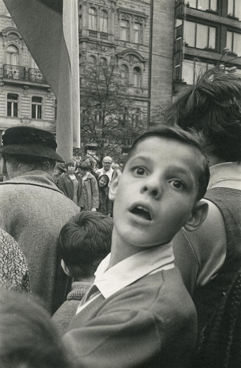 Václavské náměstí, srpen 1968