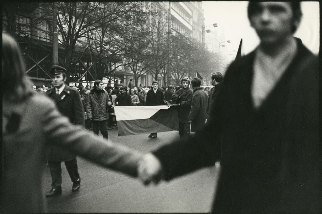 Průvod ticha, Praha, leden 1969
