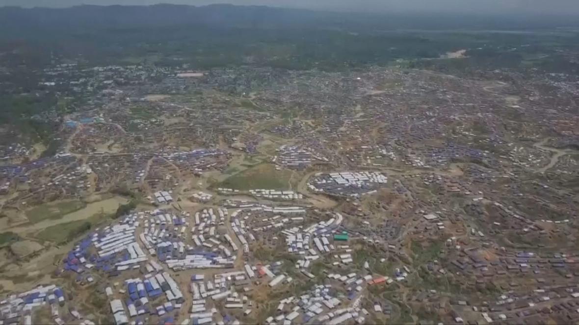 Uprchlický tábor v bangladéšském Kutupalongu