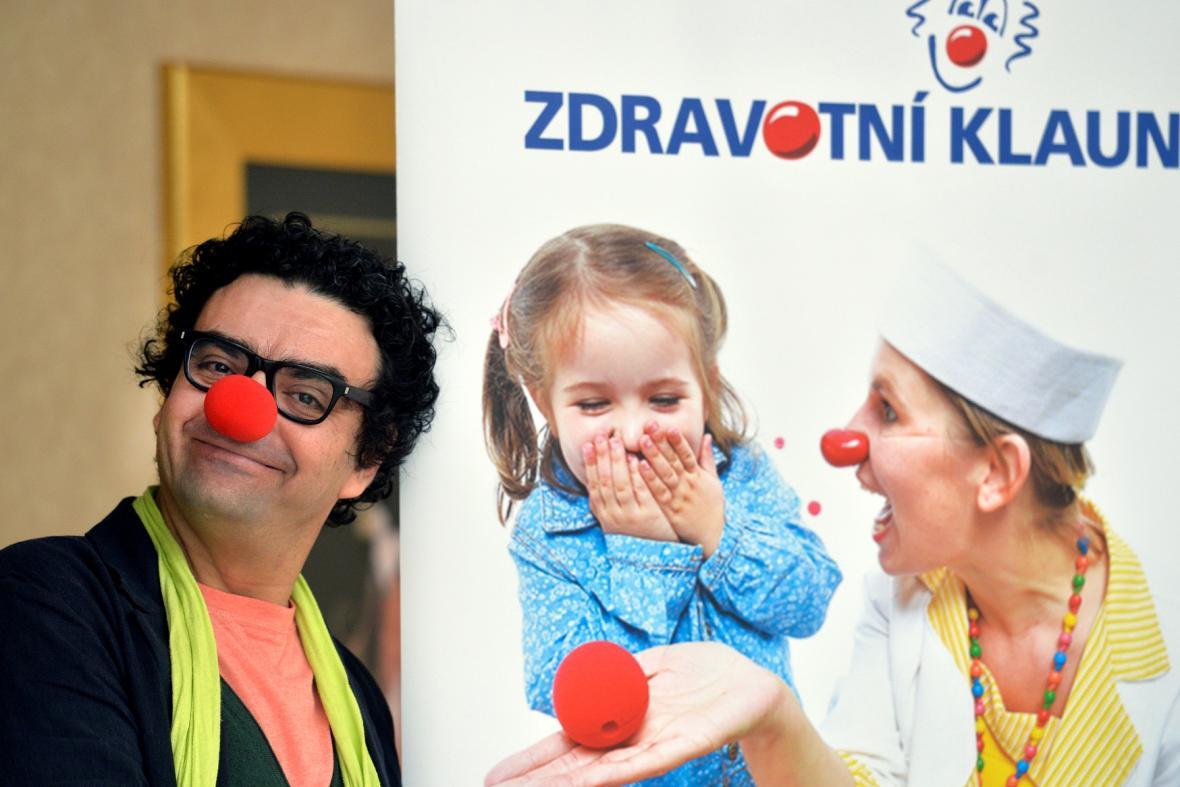 Rolando Villazón jako zdravotní klaun