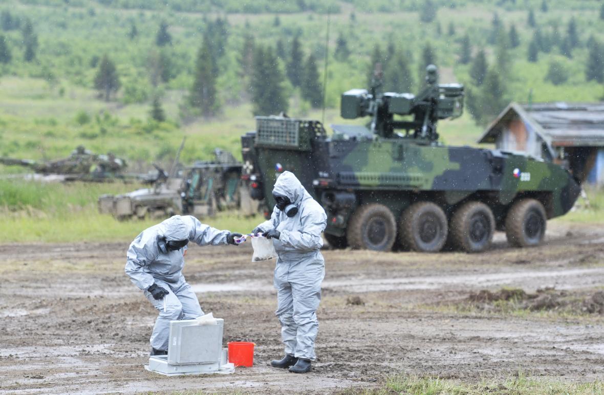 Chemická jednotka armády
