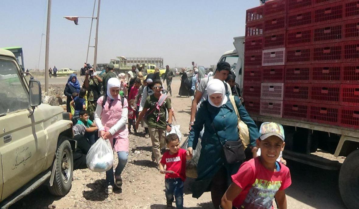 Syřané opouštějí provincii Dará
