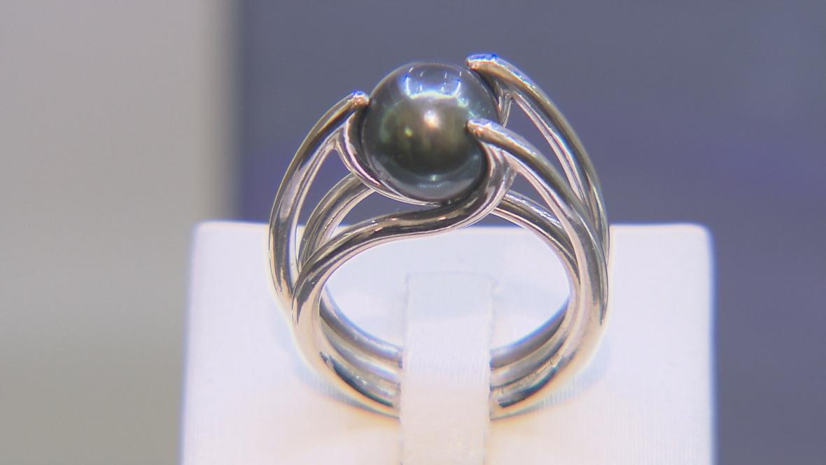 Jeden ze šperků firmy Esterstyl