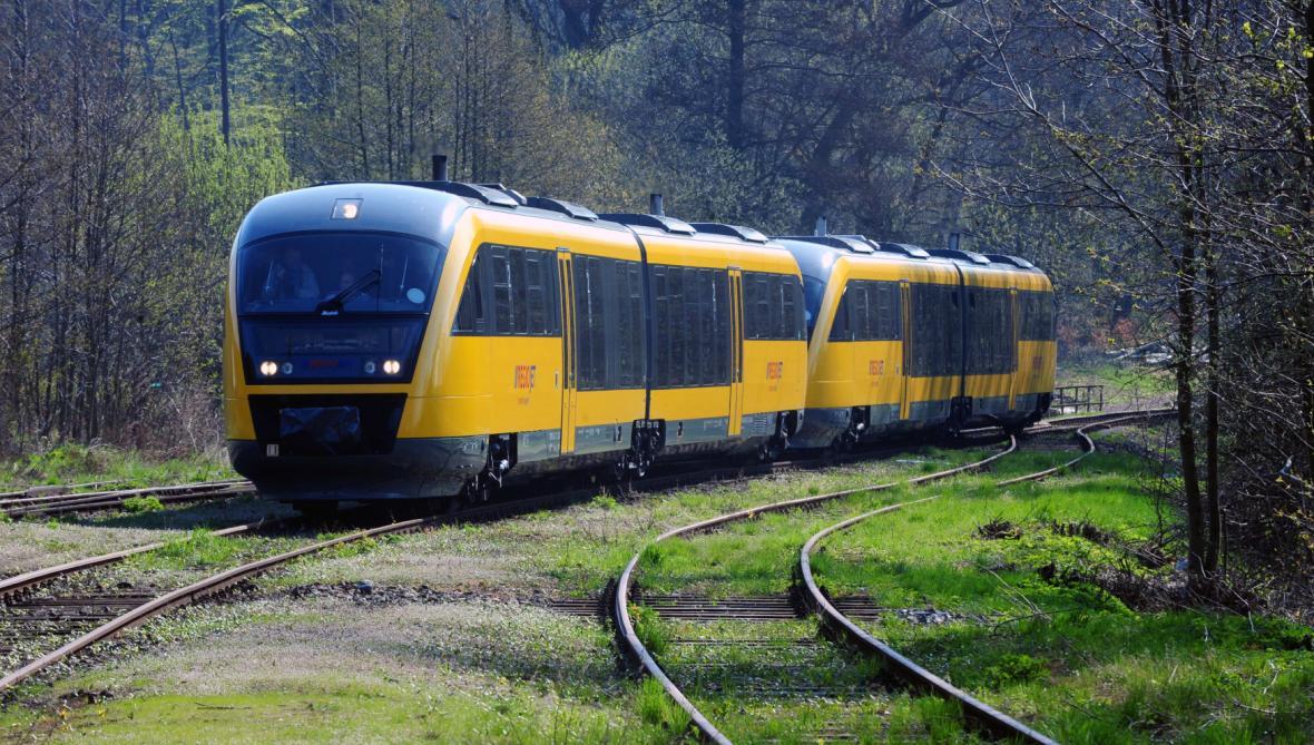 Motorový vlak Regiojet
