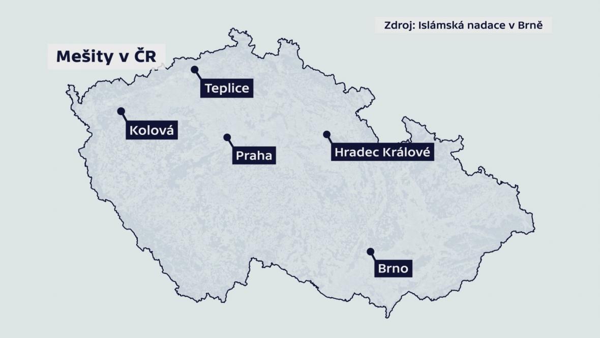 Mešity v ČR