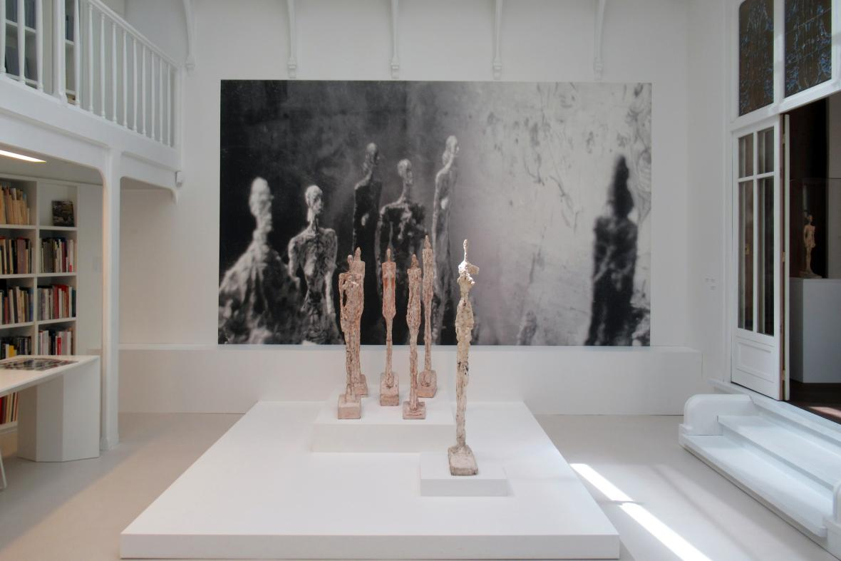 Nové centrum Alberta Giacomettiho
