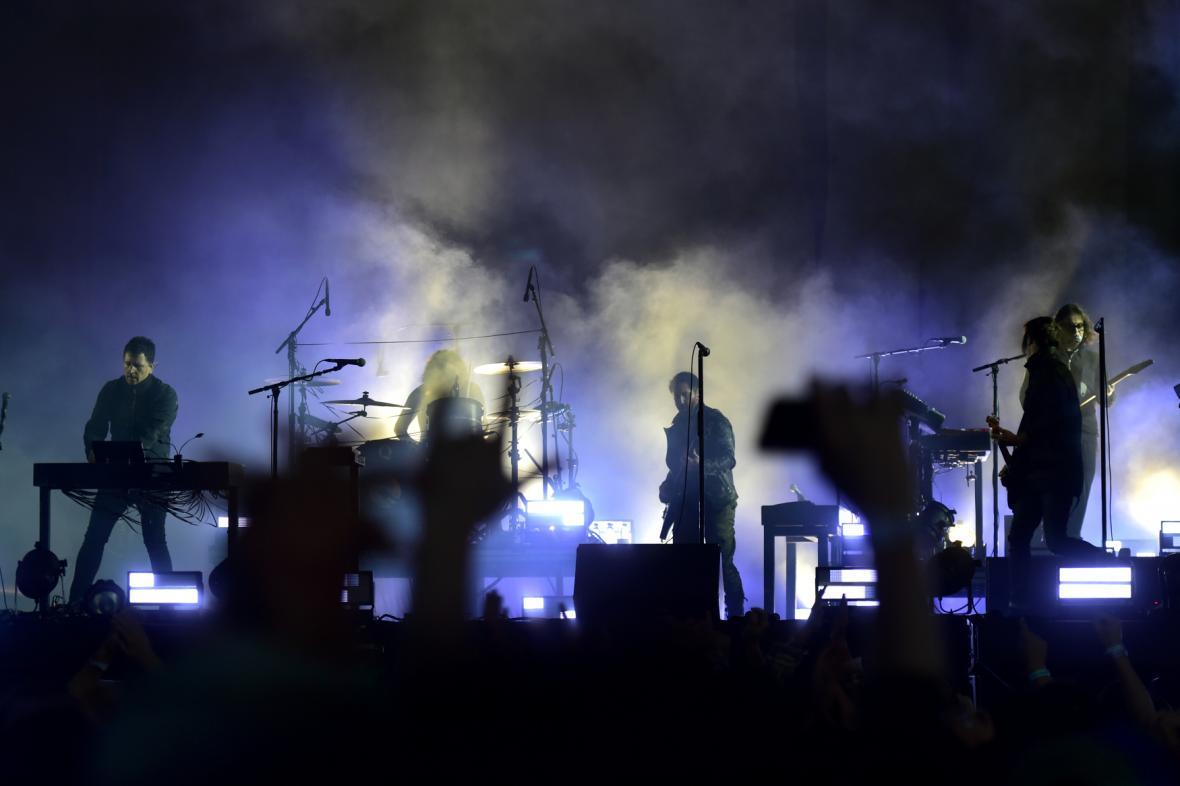 Nine Inch Nails na festivalu Aerodrome