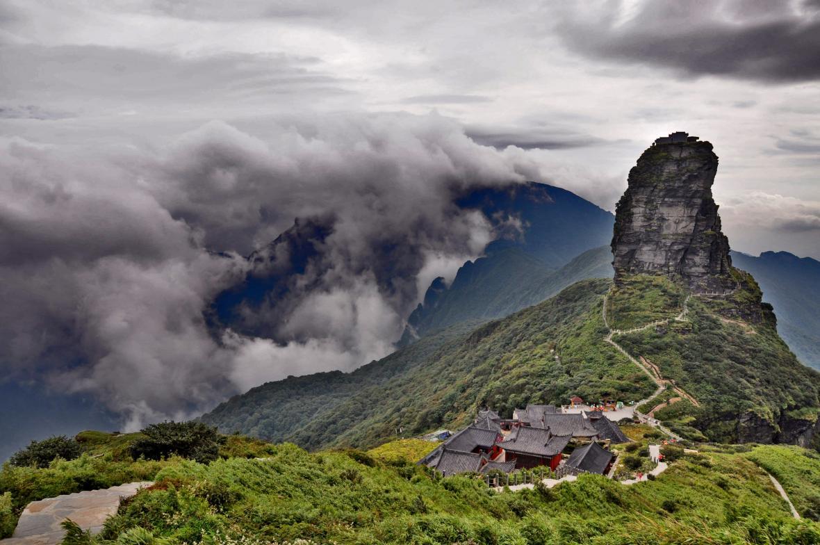 Hora Fanjing v Číně