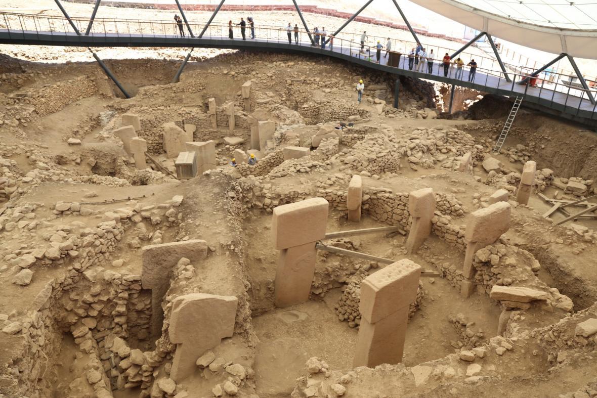 Chrám Göbekli Tepe v Turecku