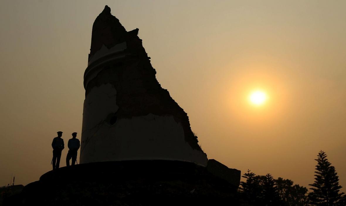 Ruiny v Káthmándú