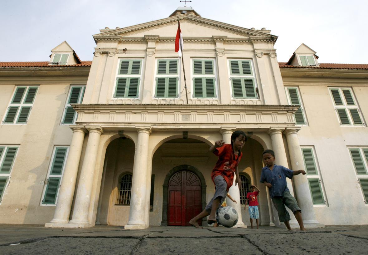 Staré město v Jakartě