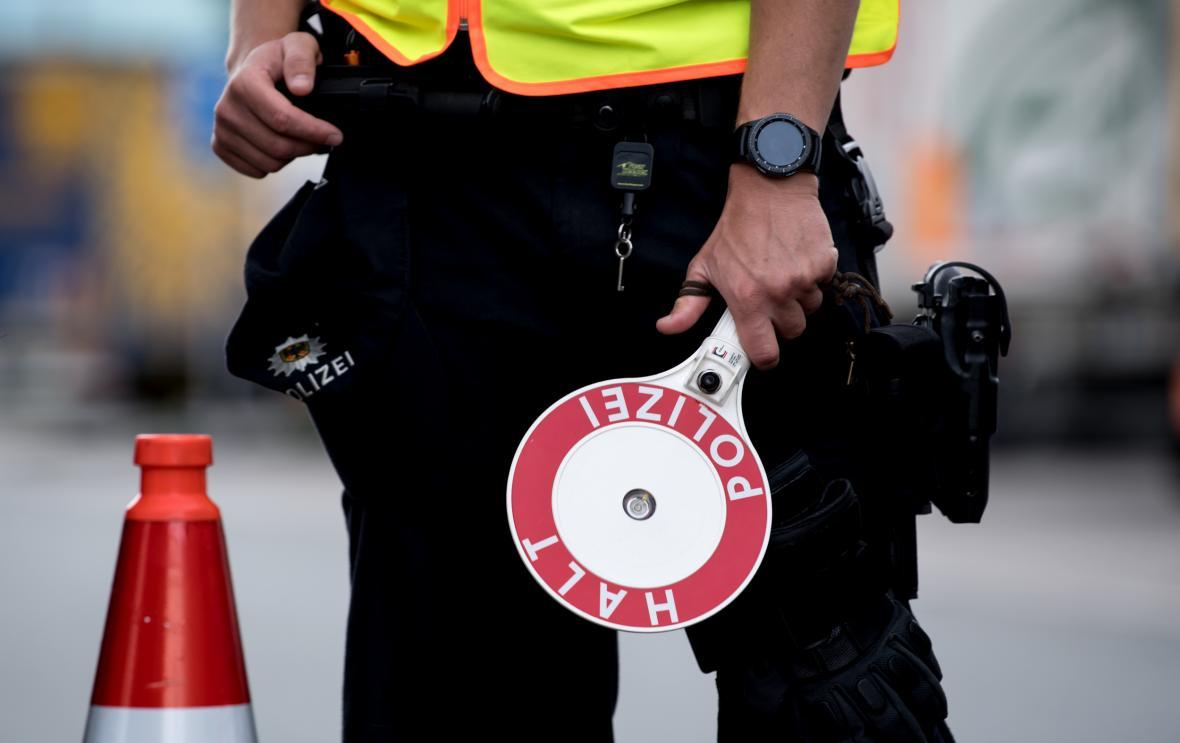 Německá policejní kontrola