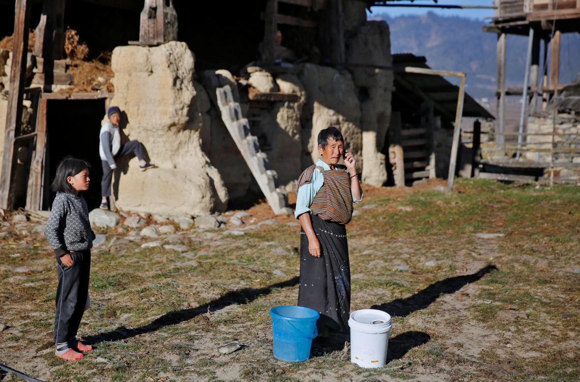 Život v jedné z odlehlých částí Bhútánu