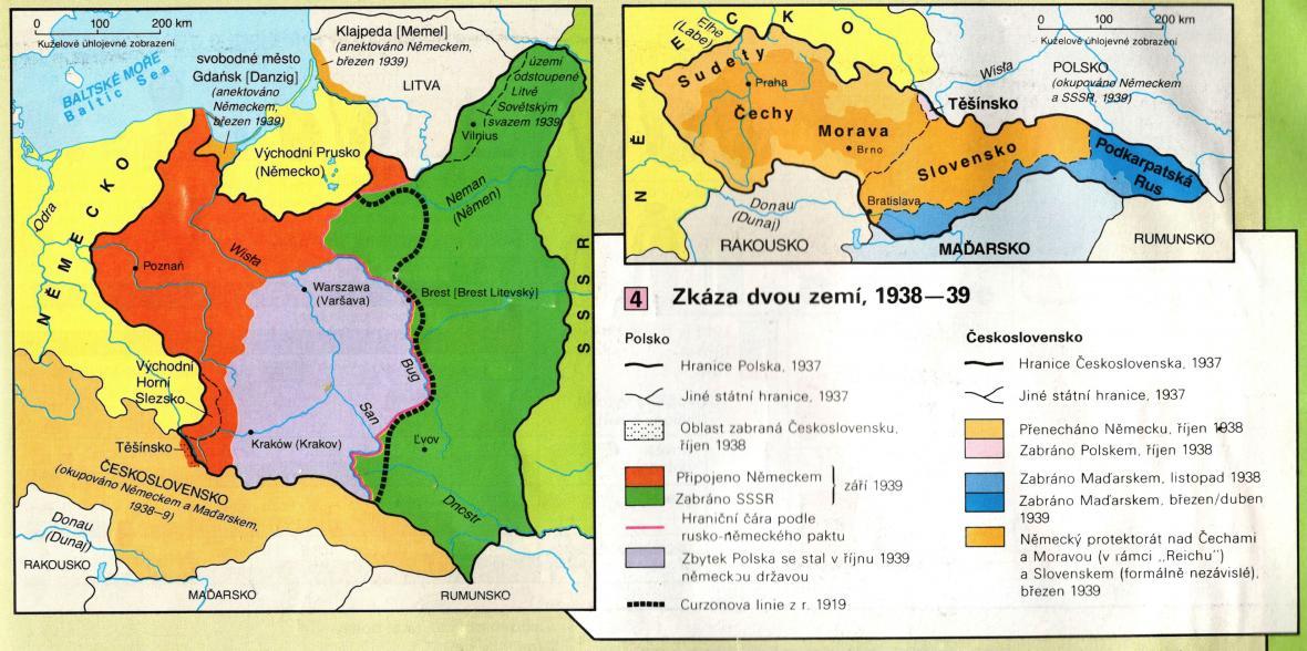 Zkáza ČSR a Polska