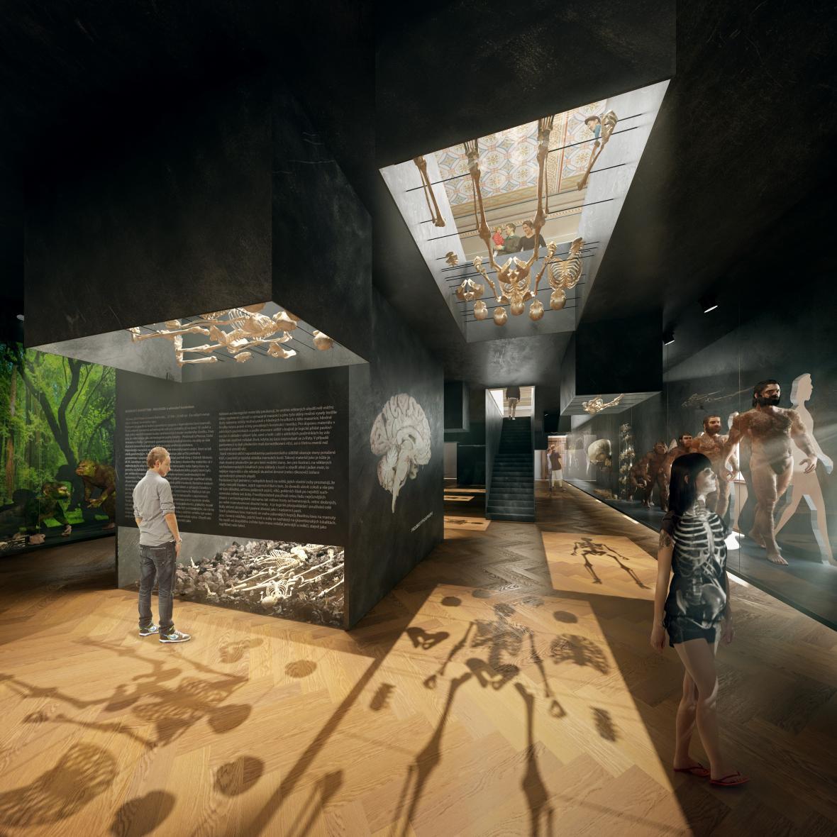Expozice Národního muzea: Lidé