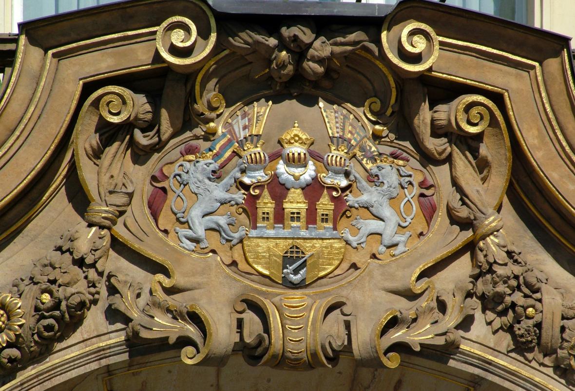 Velký znak hlavního města Prahy