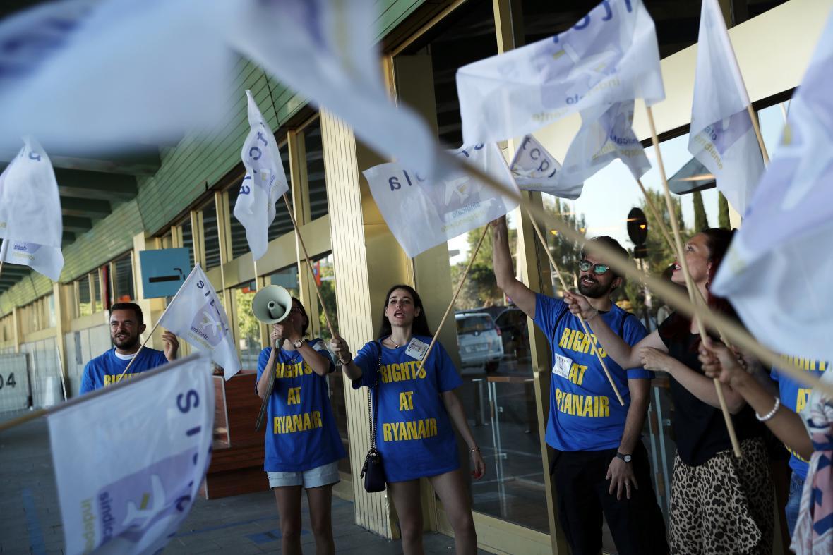 Stávka zaměstnanců Ryanairu