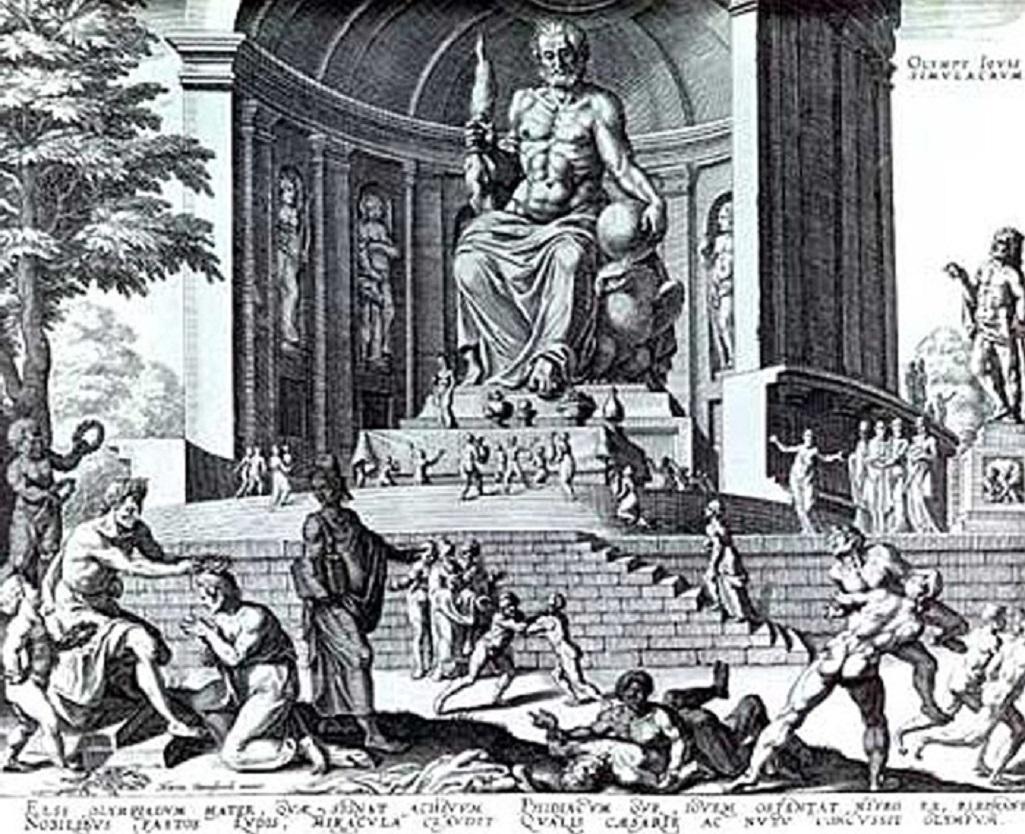 Feidův Zeus v Olympii