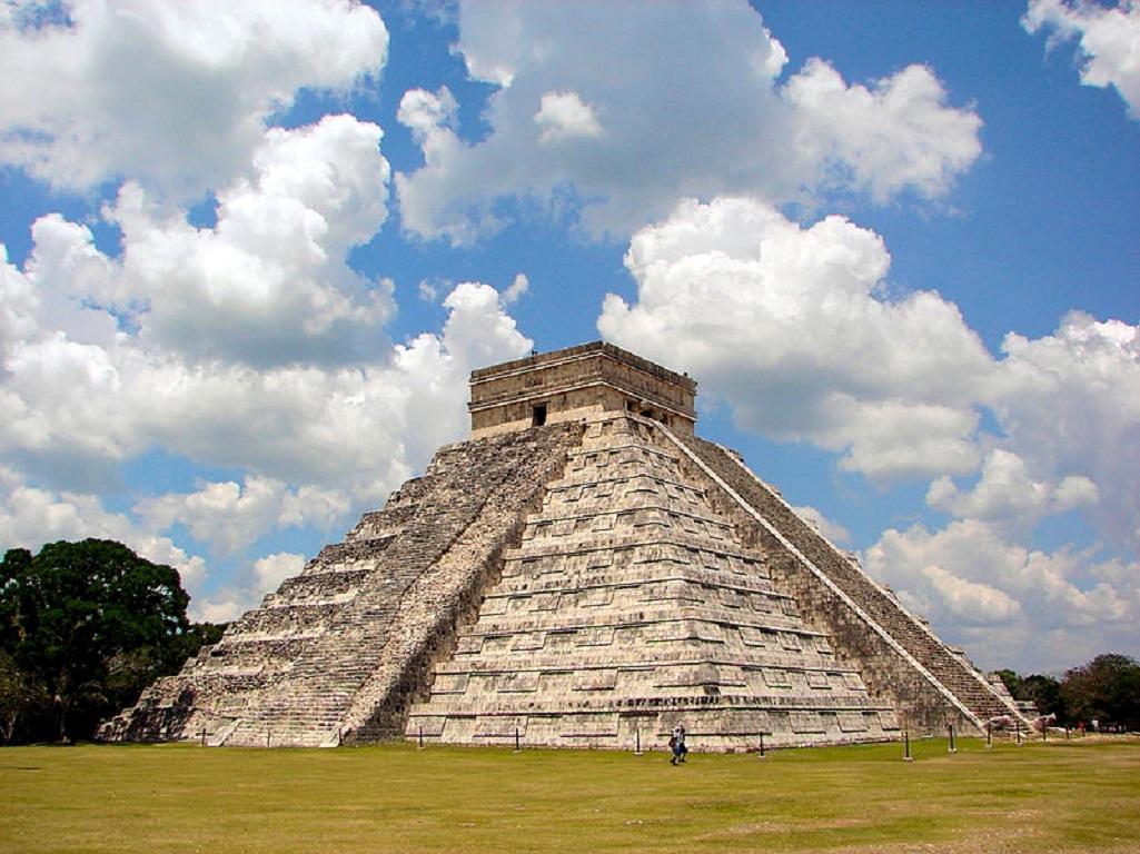 Chichén Itzá v Mexiku