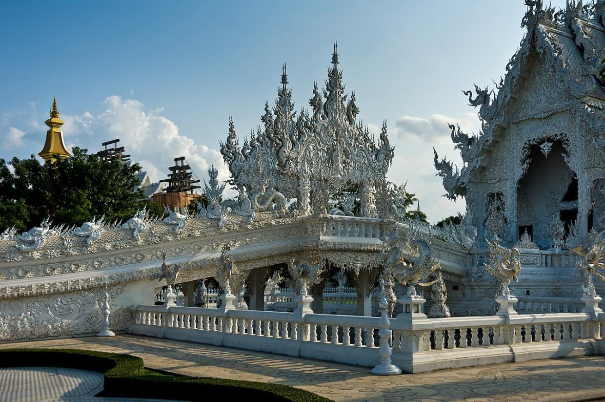 Bílý chrám v Thajsku
