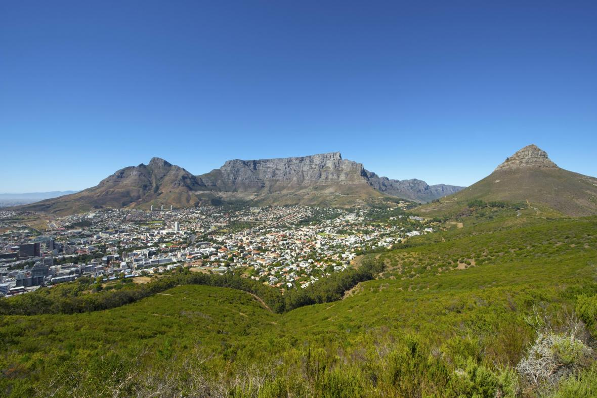 Jihoafrická Stolová hora, jeden z nových přírodních divů světa