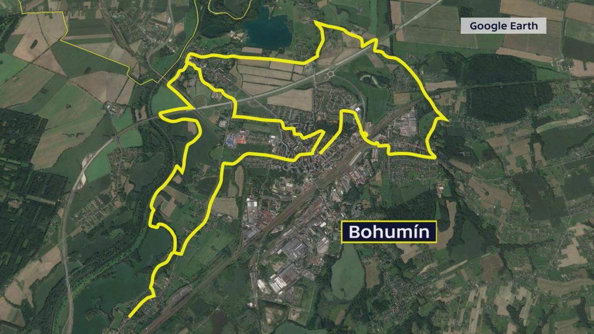 Naučná architektonická stezka v Bohumíně