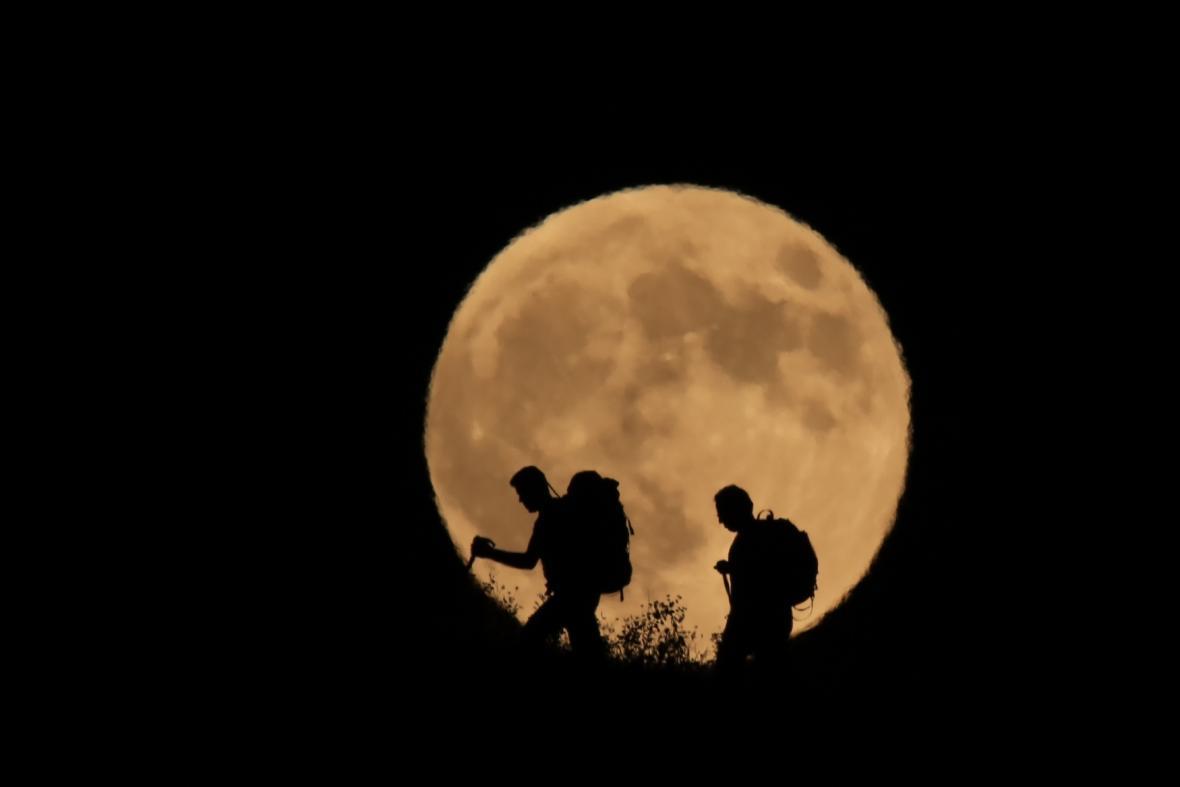 Zatmění Měsíce v Turecku