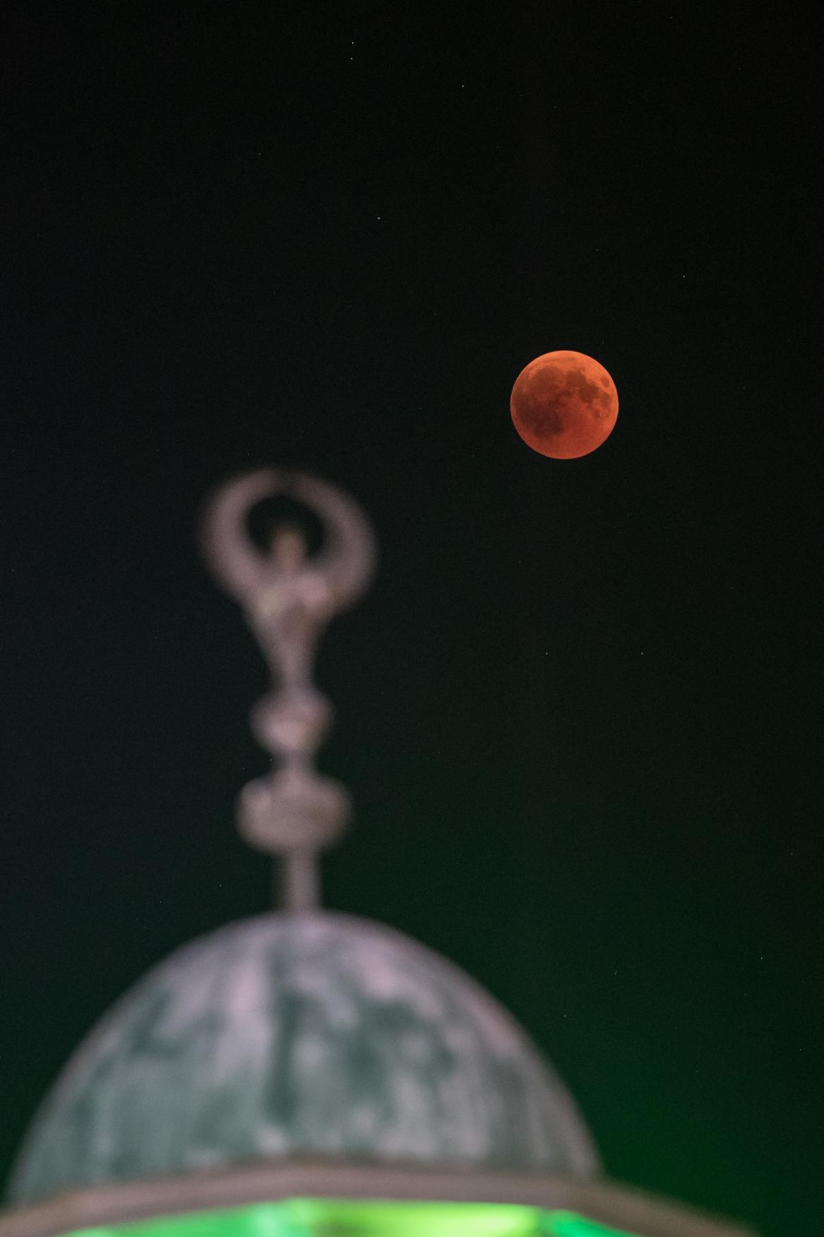 Zatmění Měsíce naderuzalémem