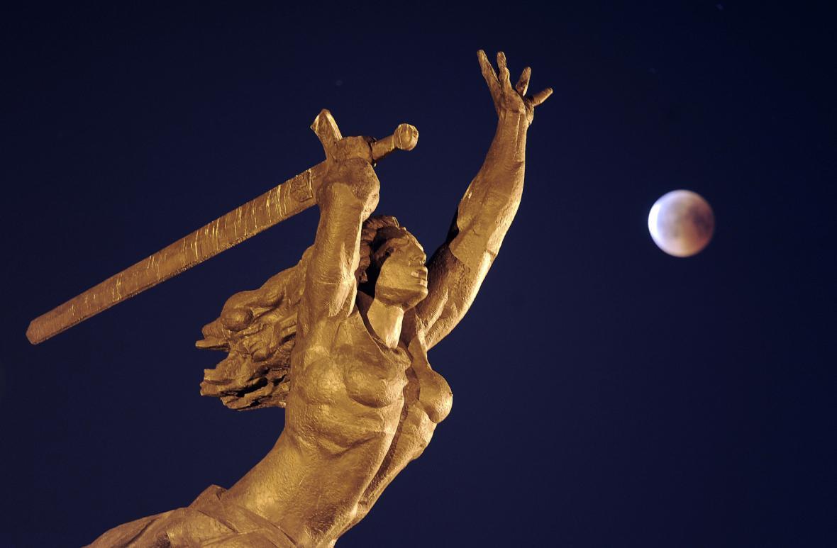 Zatmění Měsíce nad Varšavou