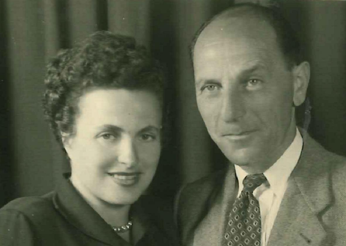 Prateta Davida Borka Hana s manželem malížem Bedou Mayerem
