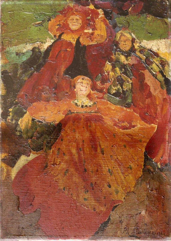 Filip Andrejevič Maljavin / Báby, počátek 20. let 20. století