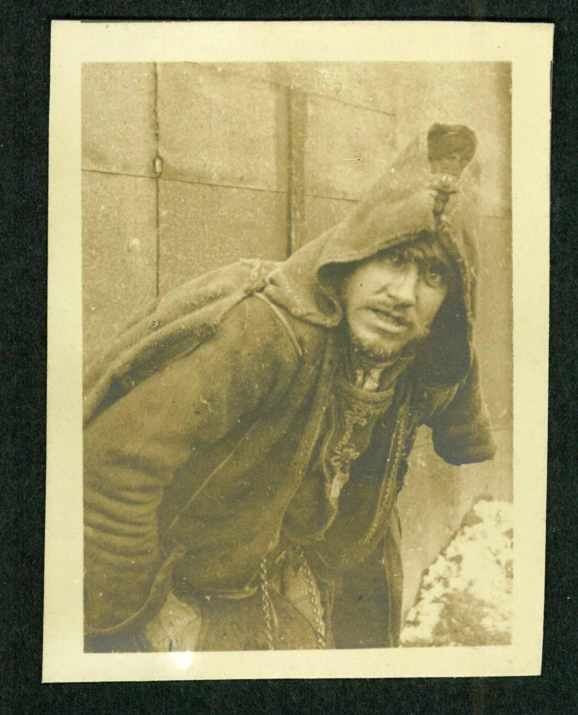 Zajatecký tábor Broumov, fotografie dr. Georga Langera, táborového lékaře