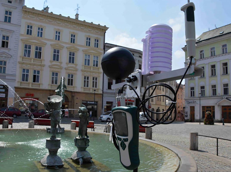 Měření tepelné pohody v Olomouci