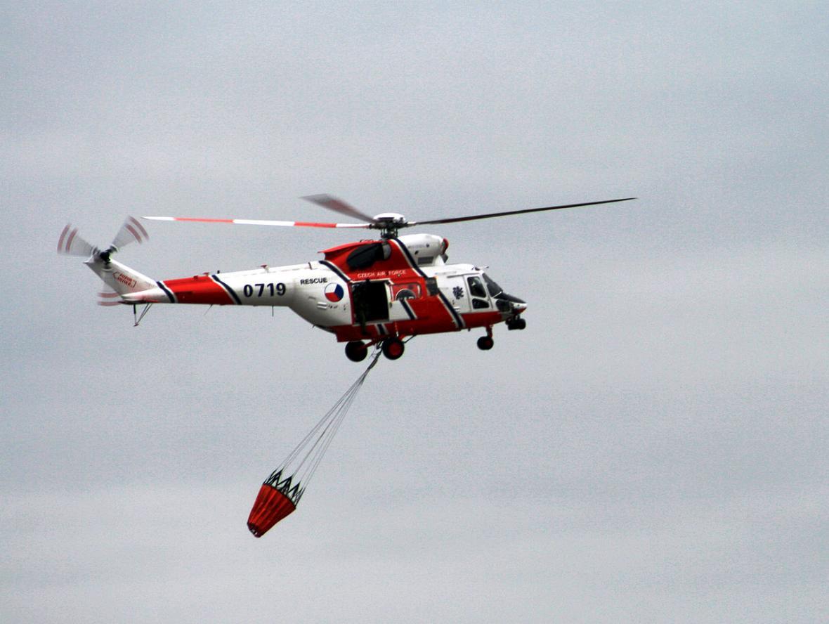 Vrtulník W-3A Sokol s Bambivakem