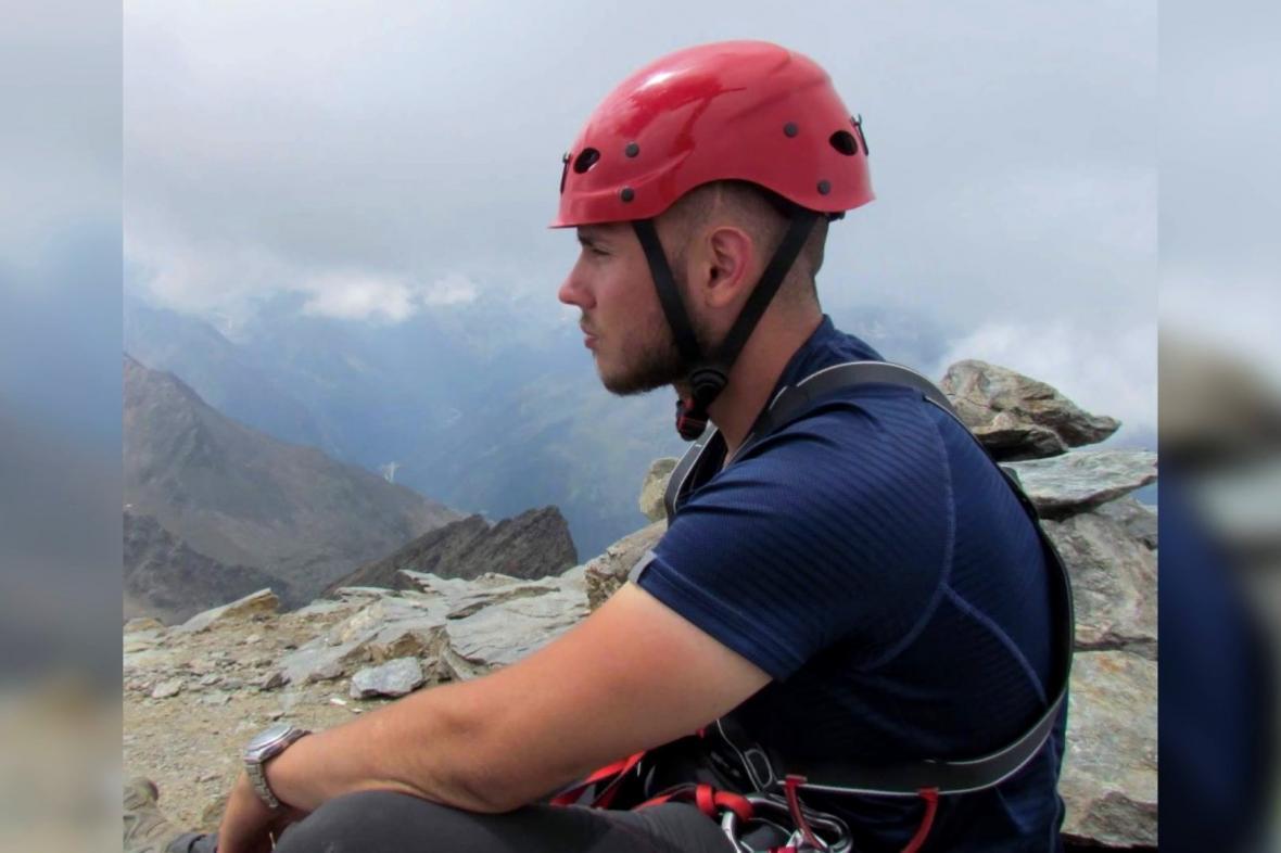 Patrik Štěpánek na horách