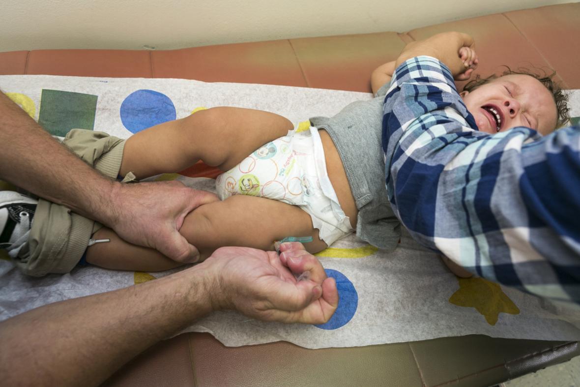 Očkování proti spalničkám